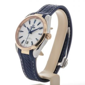 AQUA TERRA 150MOMEGA CO‑AXIAL MASTER CHRONOMETER 38 MM