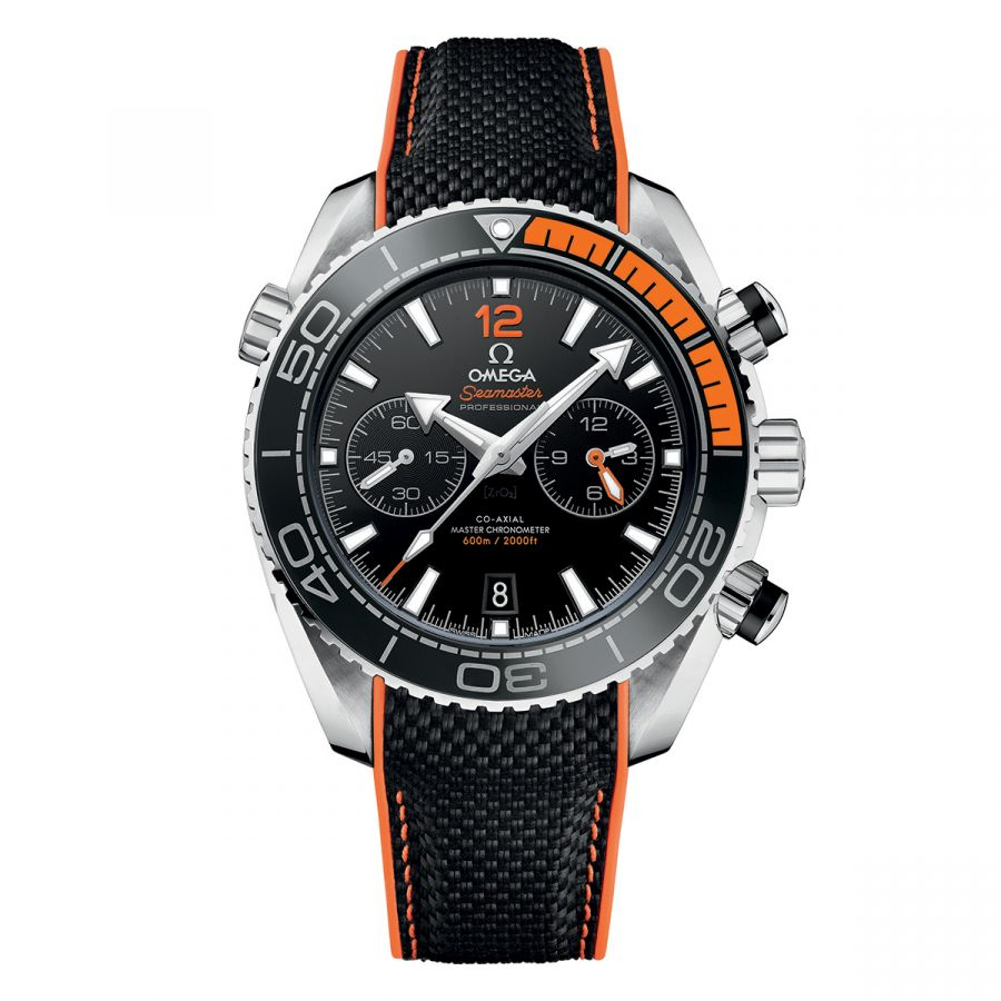 Seamaster Planet Ocean 600M Omega Co‑Axial Master Chronometer 45.5 mm