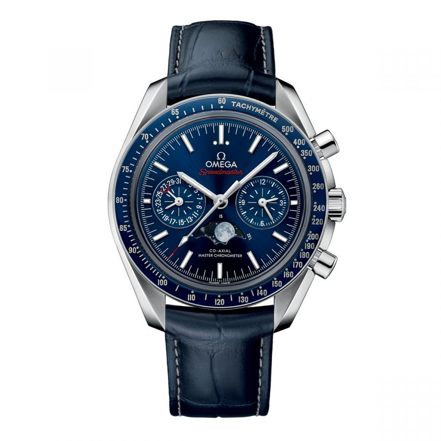 Speedmaster Moonwatch Omega Co‑Axial Master Chronometer Moonphase Chronograph 44.25 mm