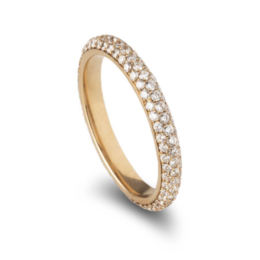 Eternity Ring Pavé 0,97 ct