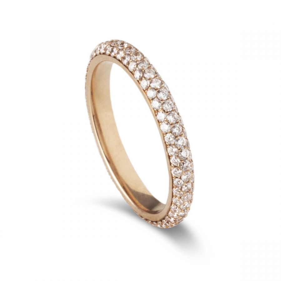 Eternity ring pavé 404ARG