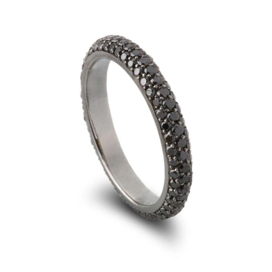 Eternity ring Pavé 1,35 ct