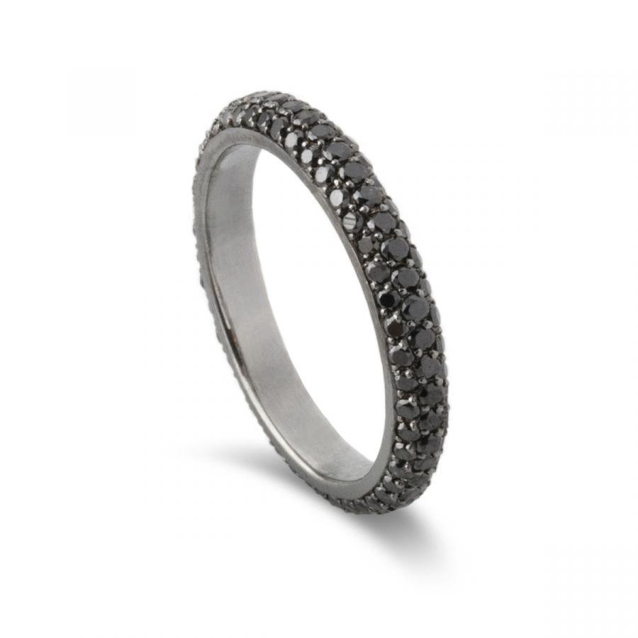 Eternity ring pavé 404AWGB