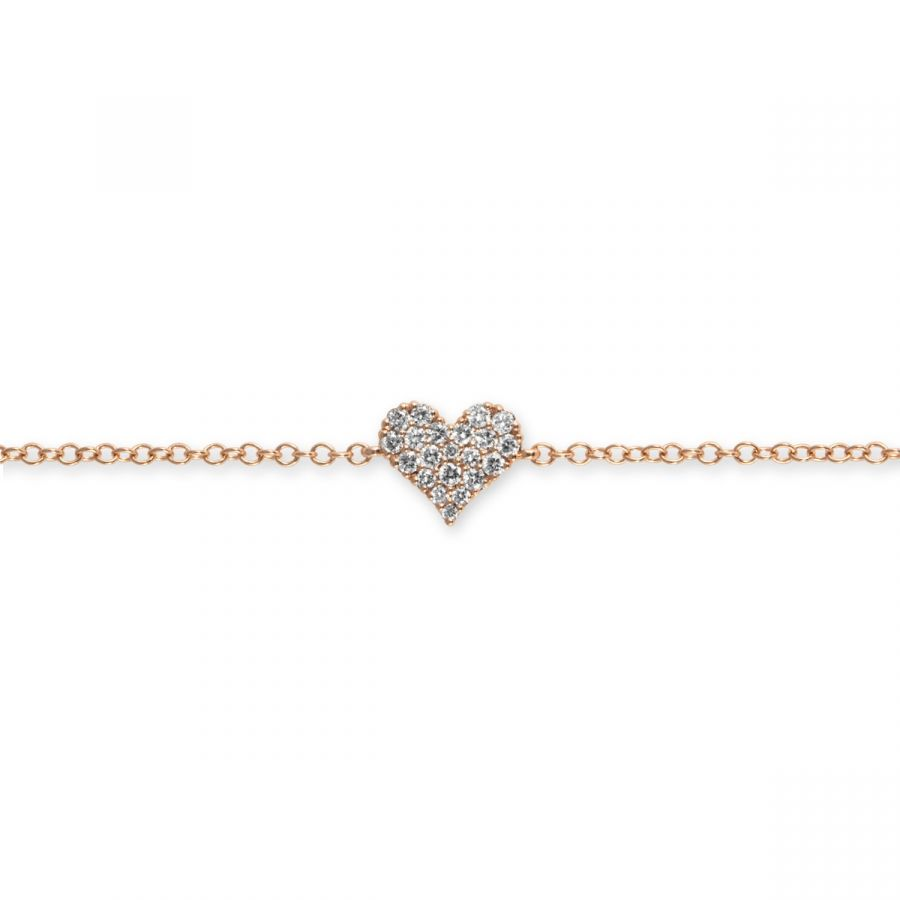 Hjärt Armband 0,16 ct