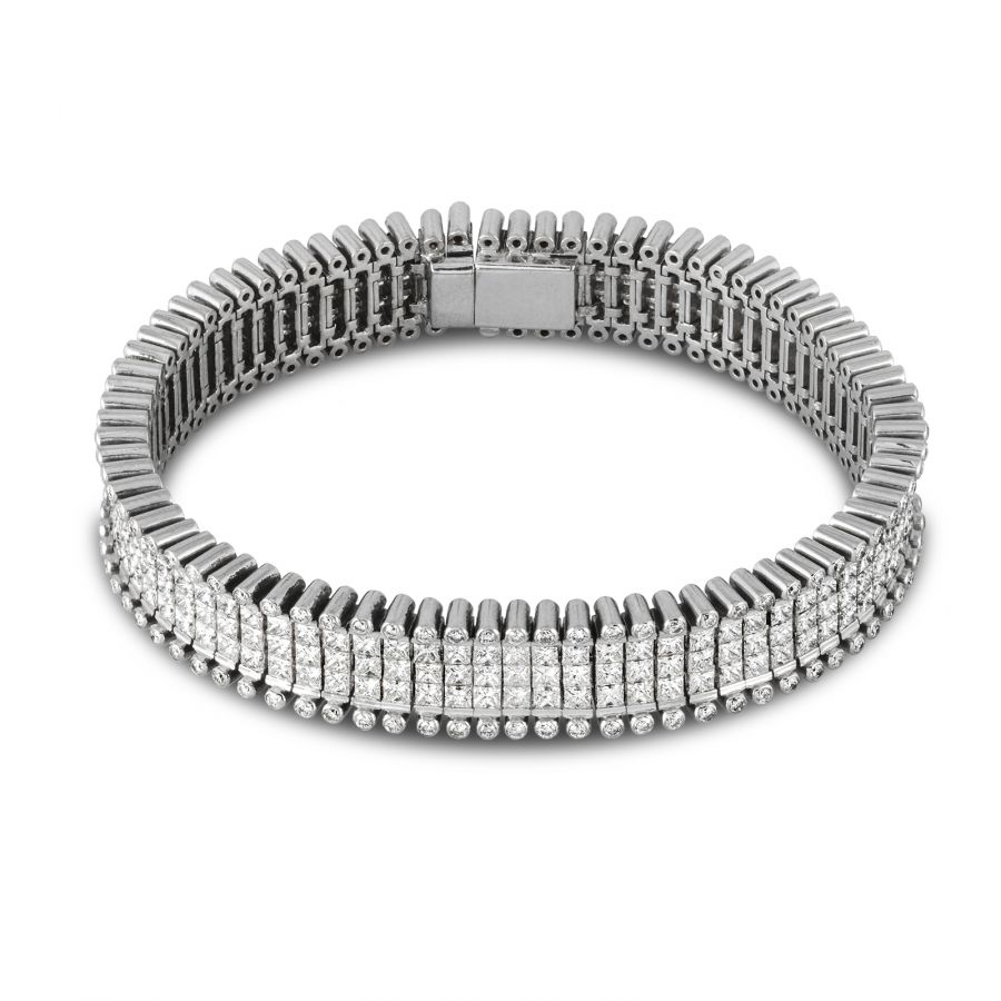 Nyx Prinsess Armband 15,07 ct
