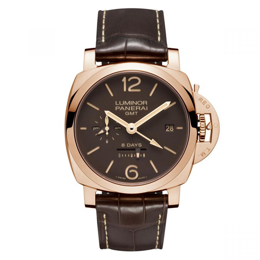 Luminor 1950 8 Days GMT Oro Rosso - PAM00576
