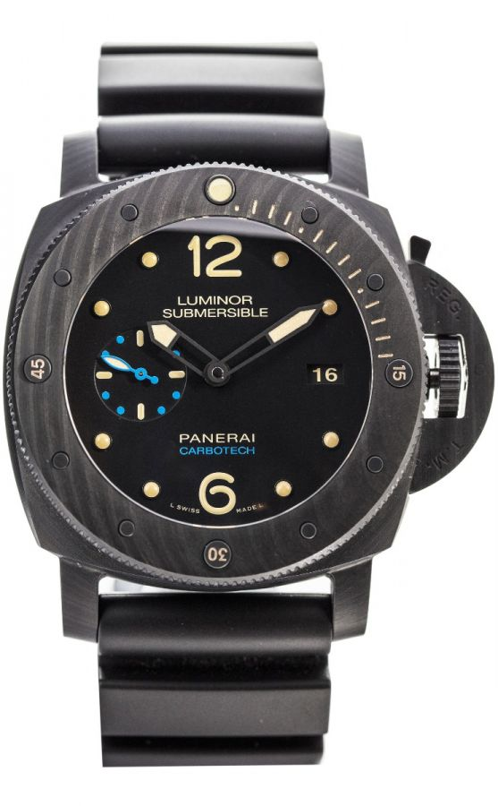 LUMINOR SUBMERSIBLE 1950 CARBOTECH™ 3 DAYS AUTOMATIC - 47MM